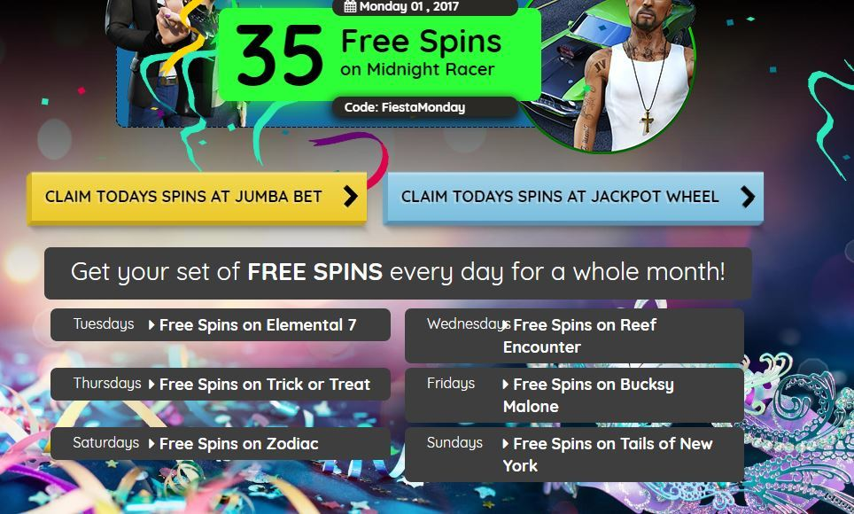 Closed Exclusive Jumba Bet And Jackpot Wheel Funky Free Chip