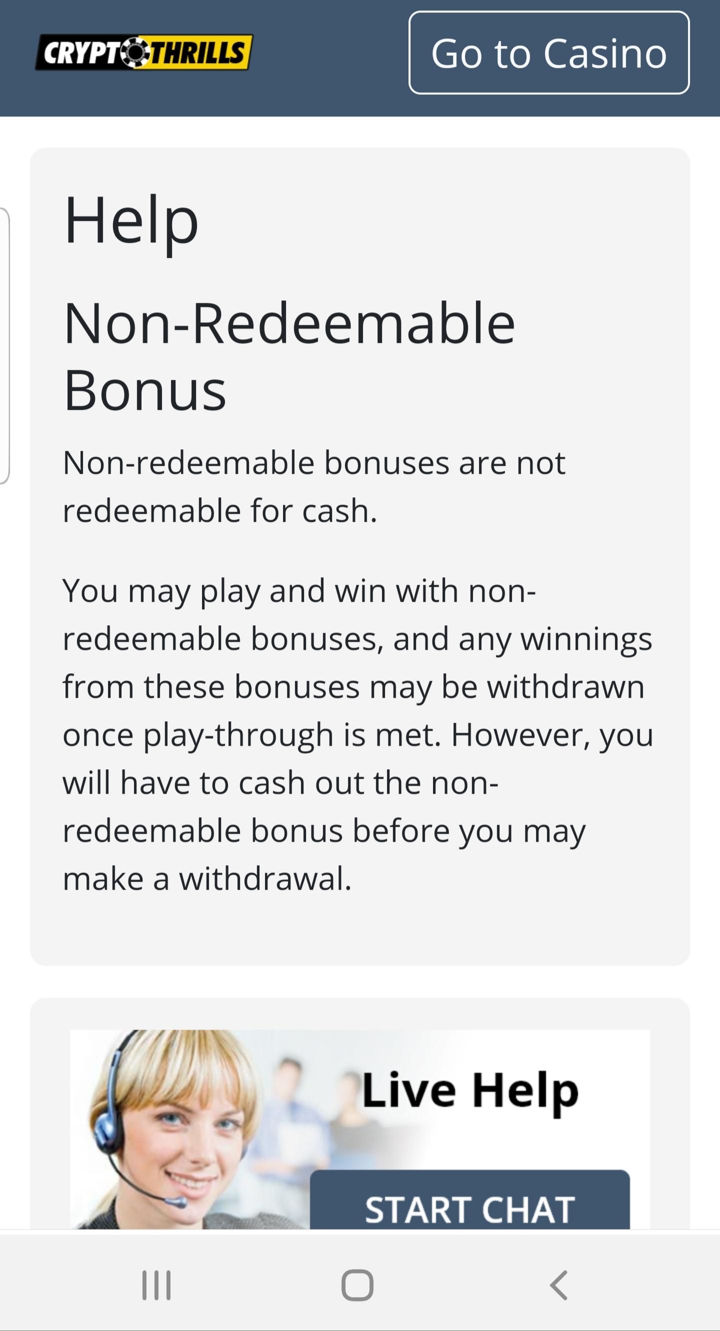 crypto thrills no deposit bonus