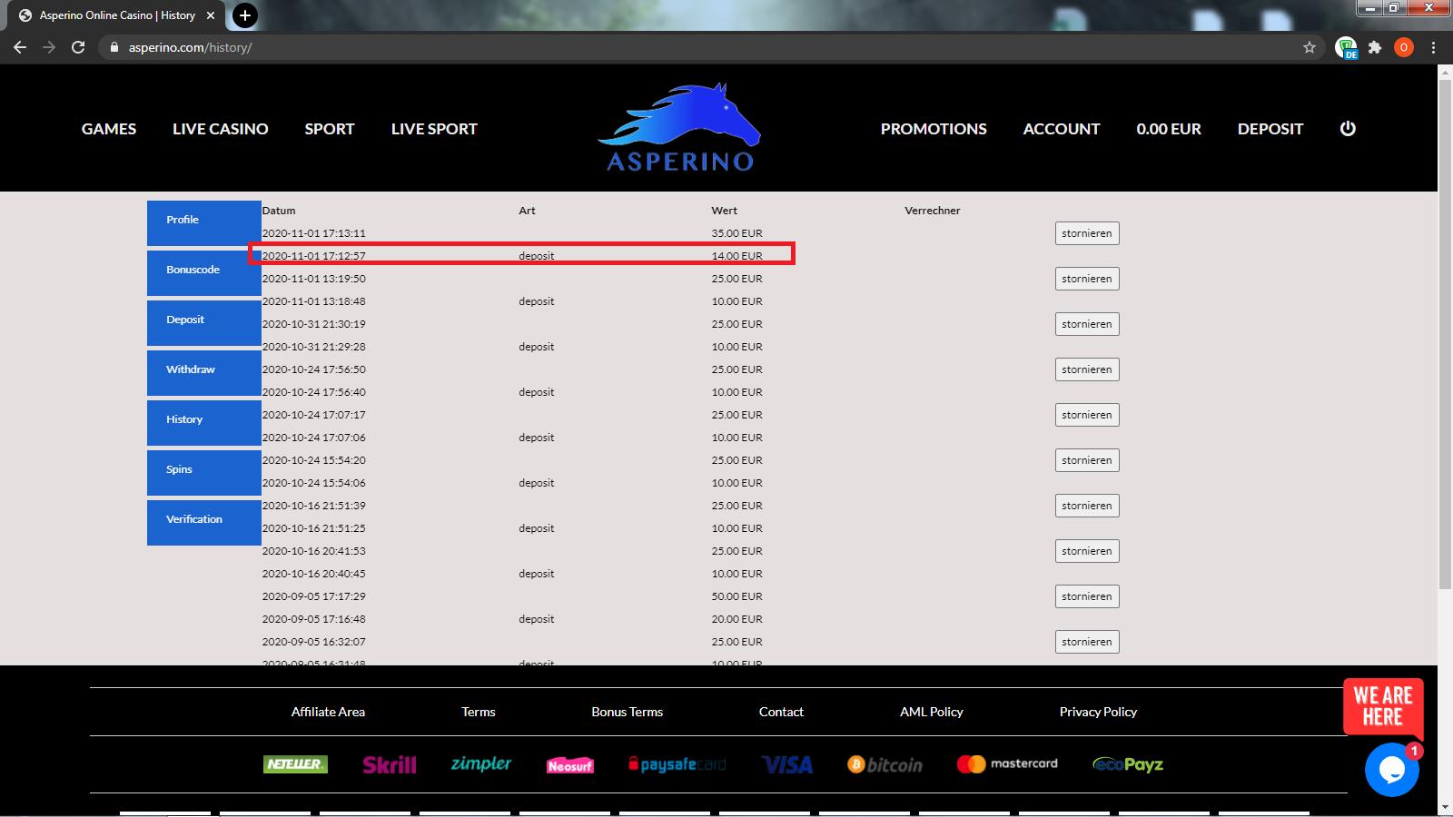 Asperino Casino