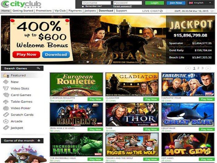City club casino download free bus harrahs casino shreveport tyler