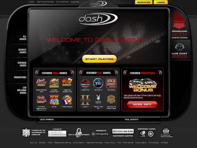 Dash Casino HP