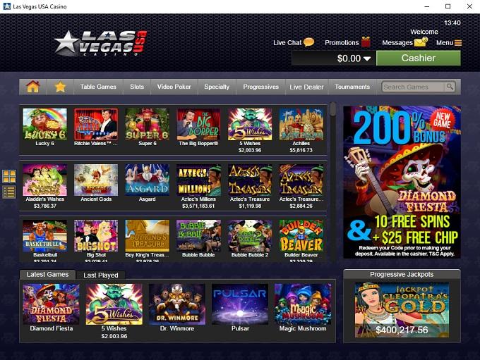 Las Vegas USA Casino 28.04.2020. lobby