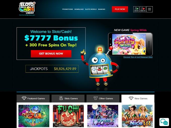 Sloto'Cash Casino 29.04.2021. hp