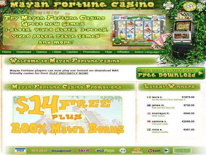 Mayan fortune casino no deposit bonus palm springs fantasy springs resort casino