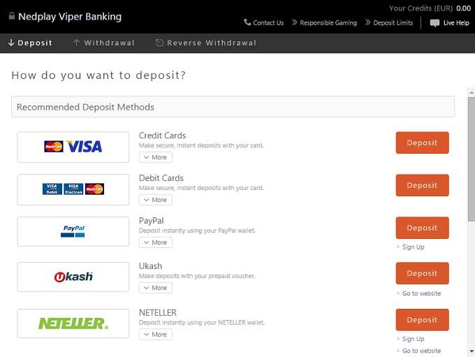 Online casino 5 dollar minimum deposit
