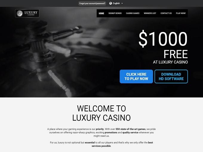 Luxury Casino 08.10.2021. hp