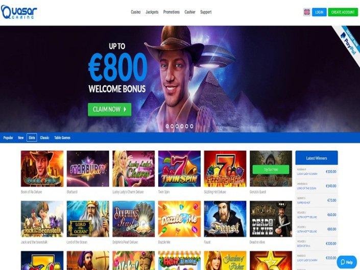 Quasar G4aming Casino