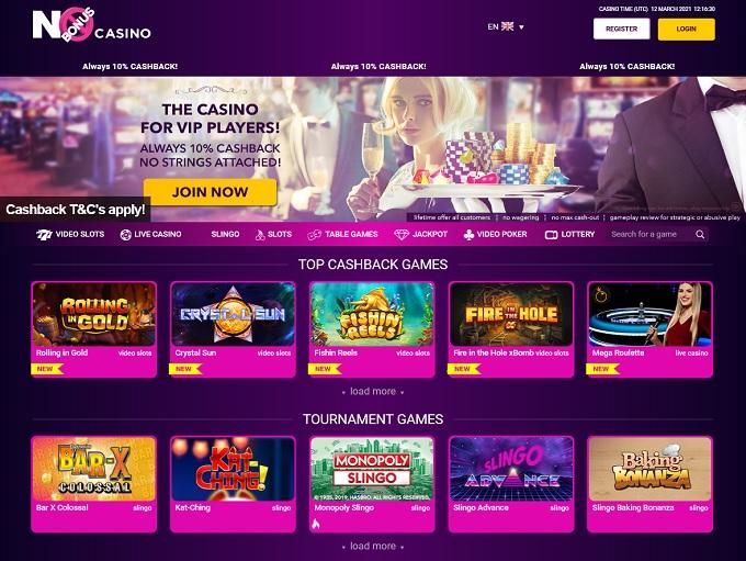 No Bonus Casino 12.03.2021. hp