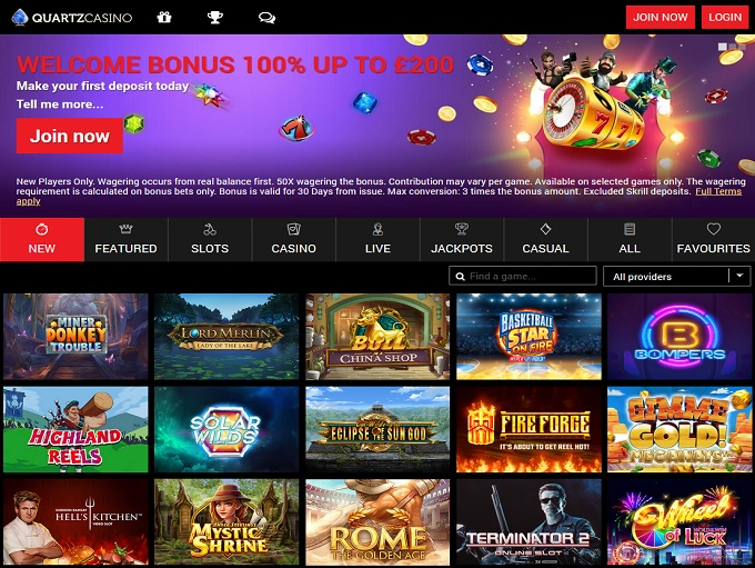Quartz Casino 31.03.2021. hp