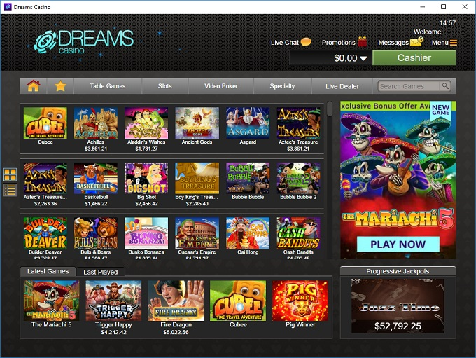 Slot cash casino