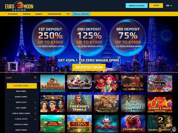 Euromoon Casino No Deposit