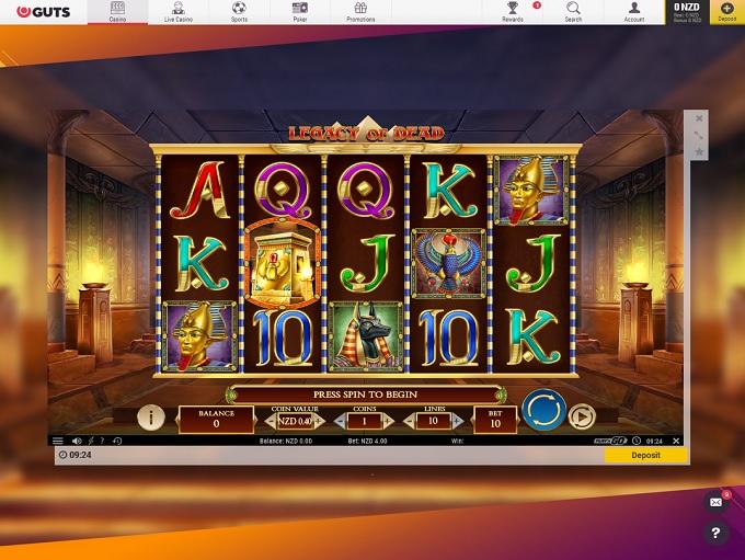 Guts Casino New Game2