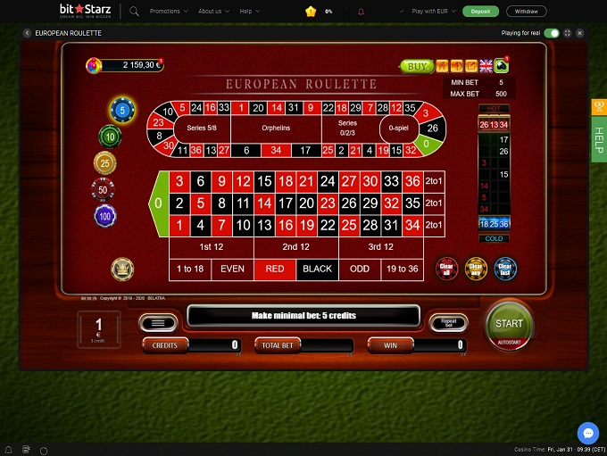Bitstarz Casino new Game 3