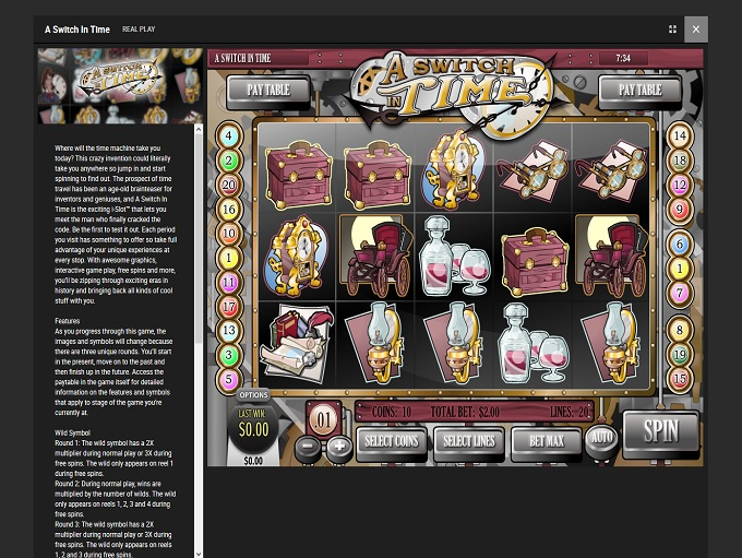 Bodog Casino new game 2