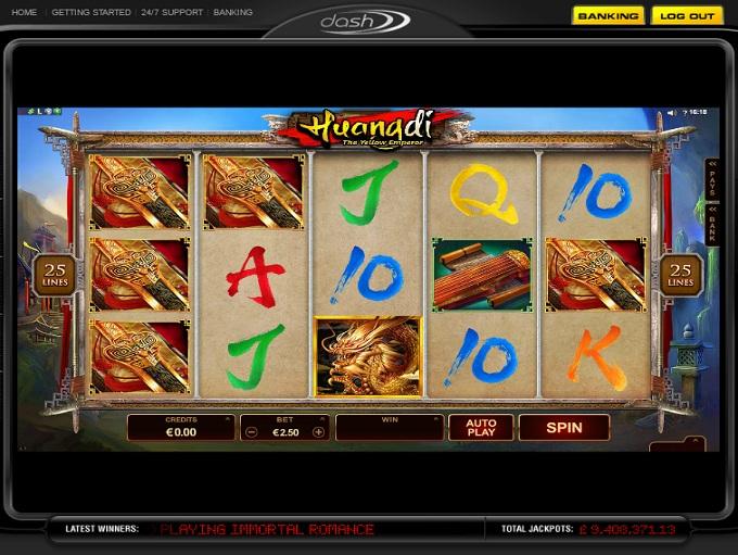 Dash Casino game 1