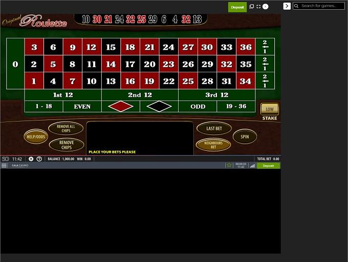 Gala Casino New Game3