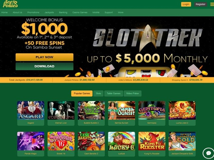 Acepokies Casino Australians Welcome