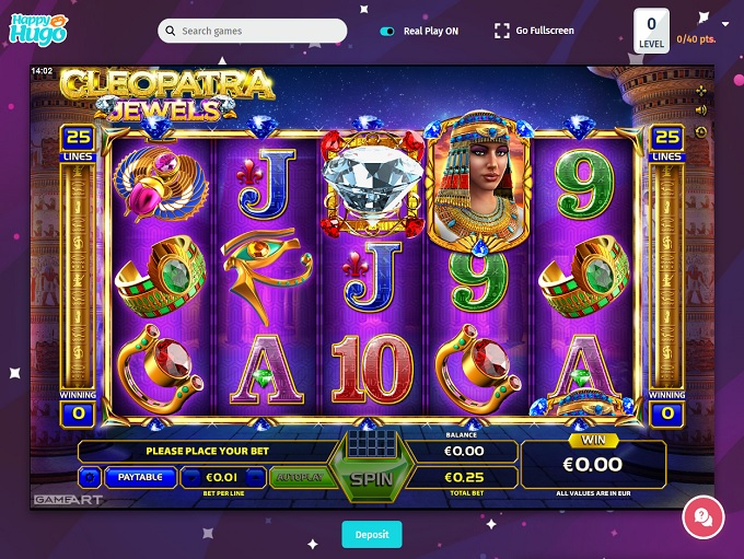 Happy Hugo Casino Review