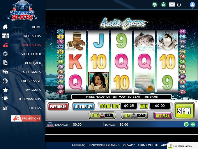 Liberty Slots Casino Has An Exclusive 18 No Deposit Bonus