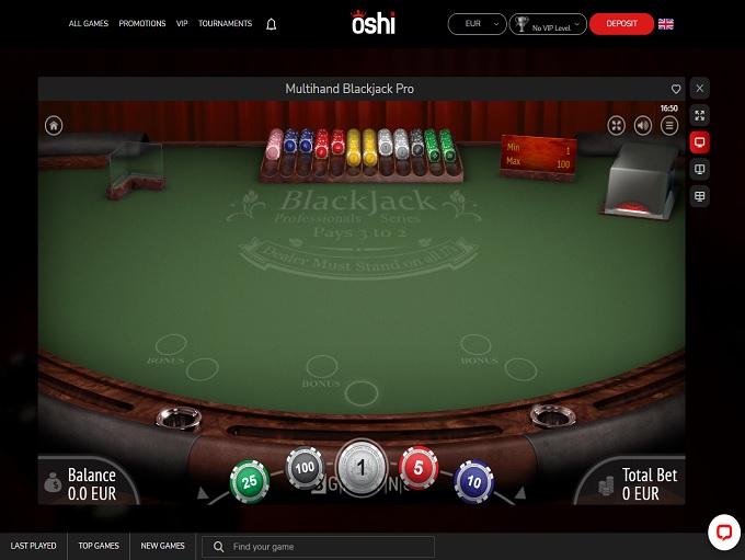 Oshi Casino 08.02.2021. Game 3