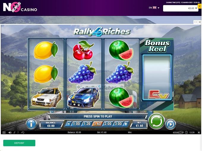 No Bonus Casino 12.03.2021. Game 2