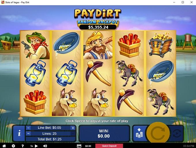 Slots Of Vegas 10.05.2021. Game 2