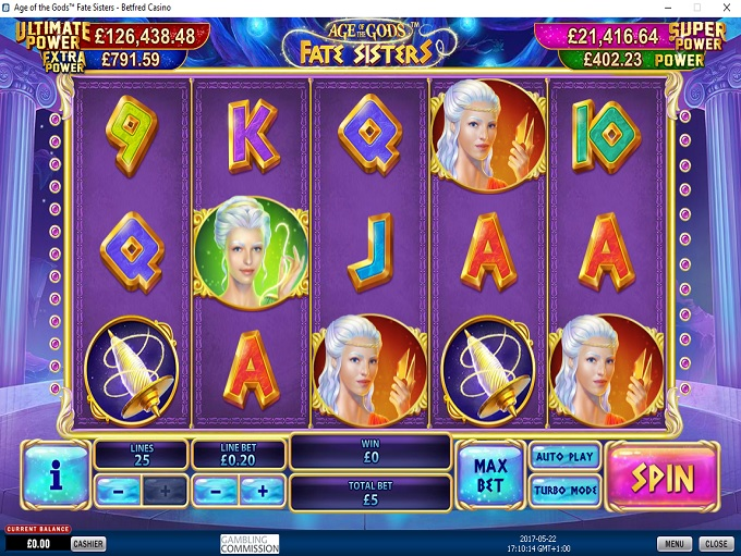 Betfred Casino Game 1