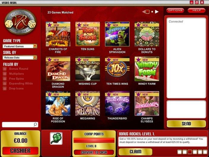 Vegas regal casino download