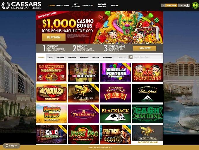 Caesars Casino New Hp