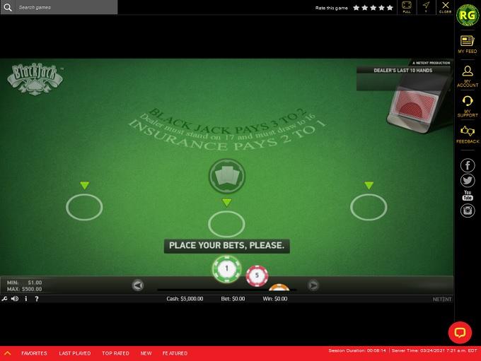 Golden Nugget Casino Game3