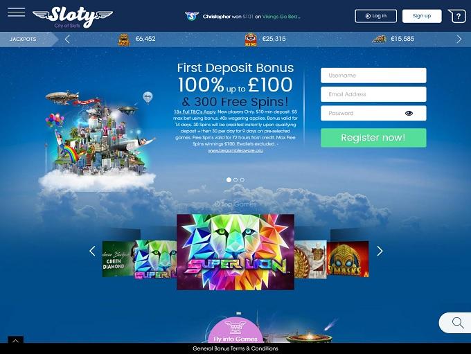 Sloty Casino 12.05.2021. hp