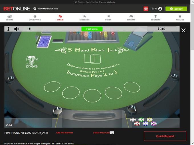 BetOnline Casino Game3