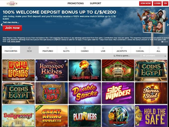 $200 Sign Up Bonus Casino
