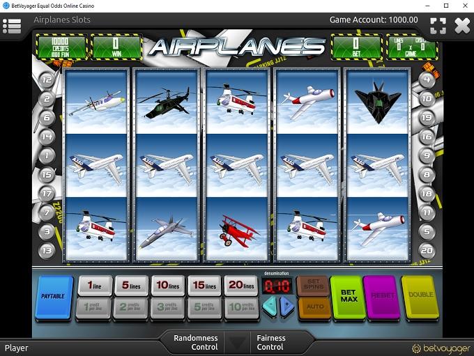 BetVoyager Casino new Game 1