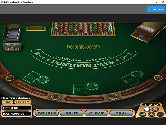 BetVoyager Casino new Game 3..