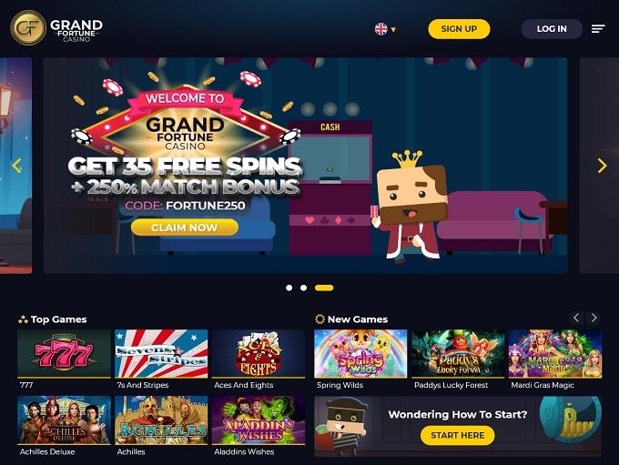 Grand Fortune Casino 22.07.2021. Hp