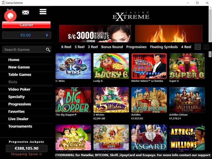 Casino Extrame Lobby