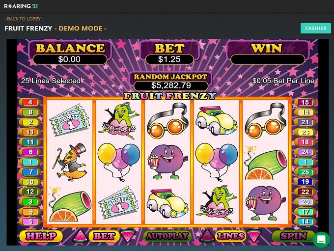 Roaring 21 Casino New Game 1
