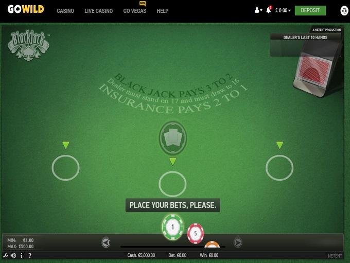 Go Wild Casino Register