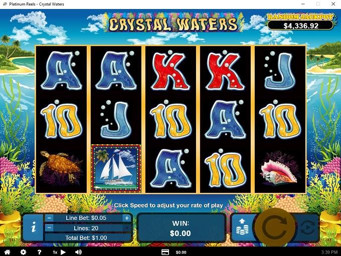 Platinum Reels Casino 19.03.2021. Game 1