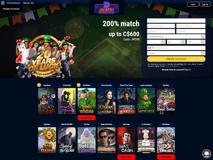 Jackpot Wheel Casino New Hp