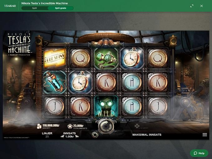 Mr Green Casino nerw Game 2