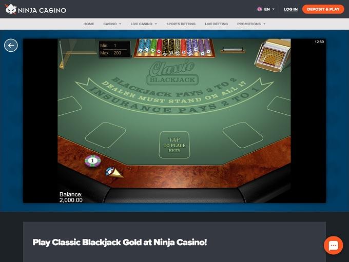 Ninja Casino 12.03.2021 Game 3