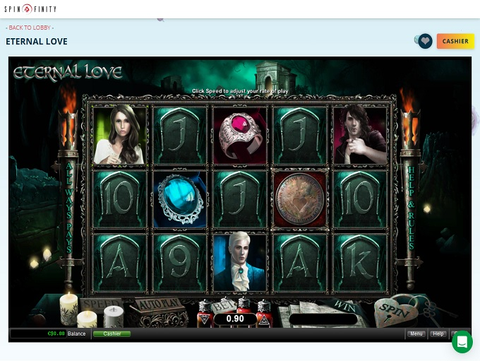 Spinfinity Casino Game 2
