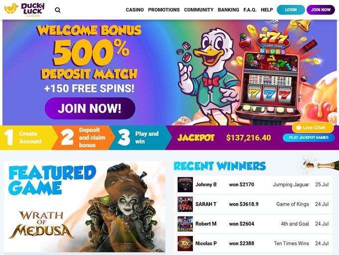 Duckyluck Casino Review ᐈ Exclusive 25 Casino Spins No Deposit Bonus