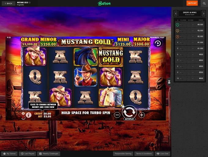 Betinia Casino Bewertung