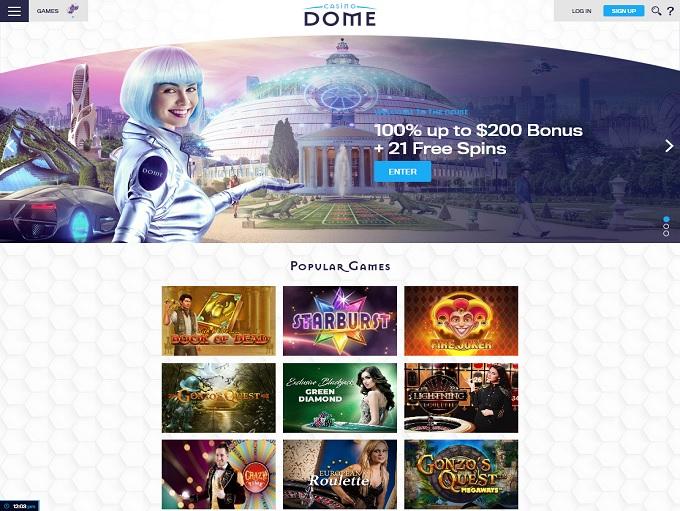 Casino Dome Hp
