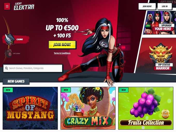 Lucky Elektra Casino hp...