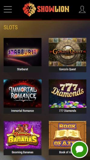 Showline online casino