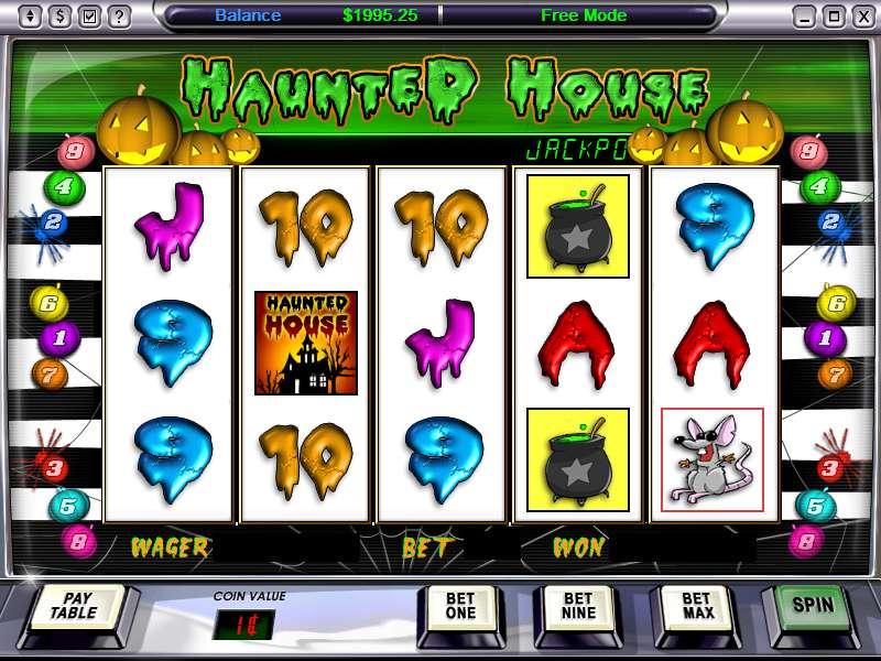 Gioco gratis slot machine haunted house